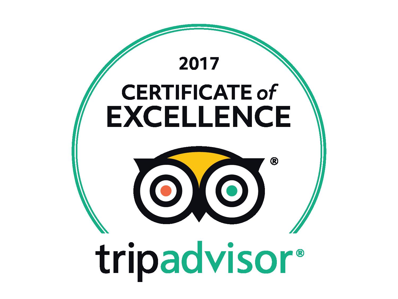 2017 TripAdvisor Certificate of Excellence | Kalgoorlie ...